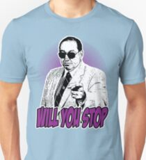 GORILLA MONSOON - WILL YOU STOP? T-Shirt