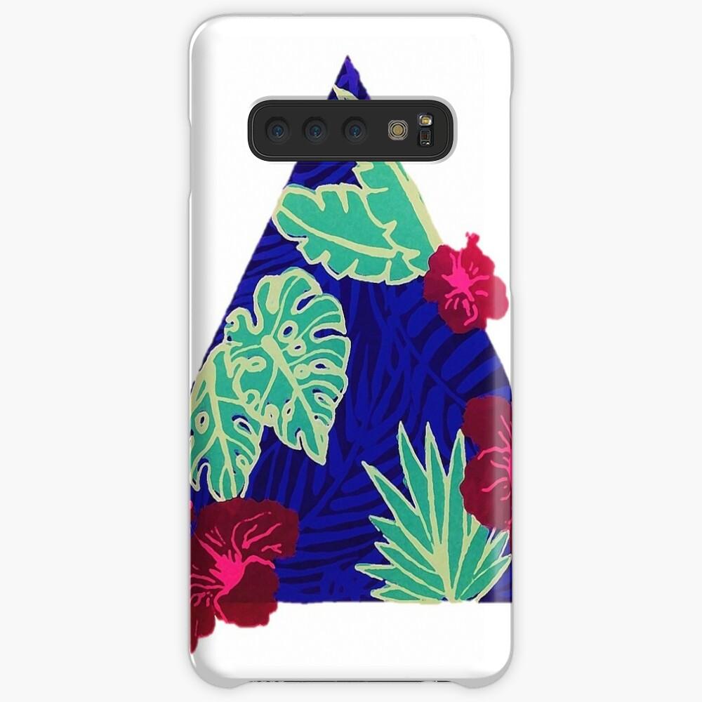 Tropisches Dreieck 2.0 Hülle & Klebefolie für Samsung Galaxy