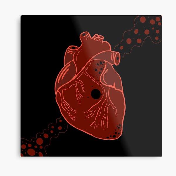heart art! Metal Print