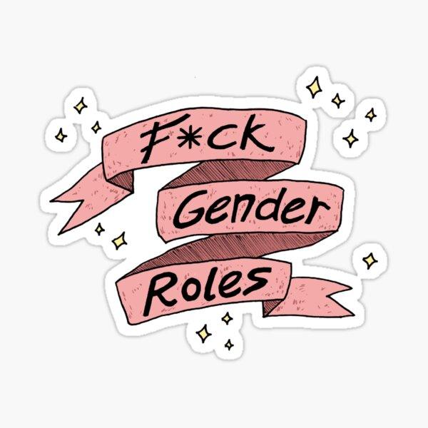 Fck Geschlechterrollen Sticker