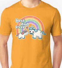 Best Unicorn Dad Unisex T-Shirt