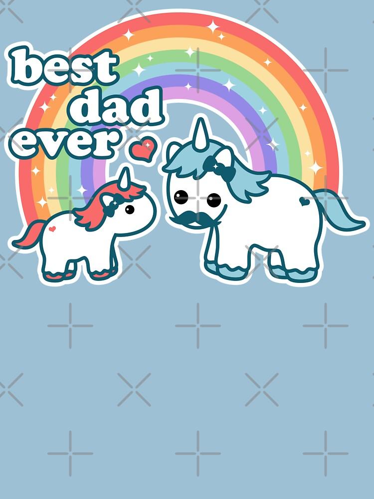 Best Unicorn Dad | Unisex T-Shirt