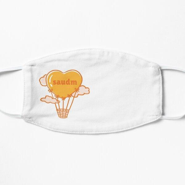 SAUDM Heart Shaped Hot Air Balloon Flat Mask
