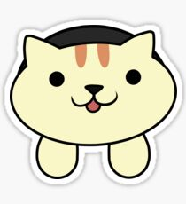 Apricot the Cat Sticker