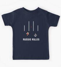 Aussie Rules Pixel Kids Tee