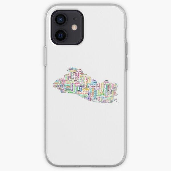 El Salvador Funda blanda para iPhone