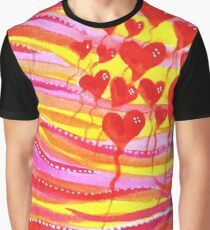 Balloons Of Love Graphic T-Shirt