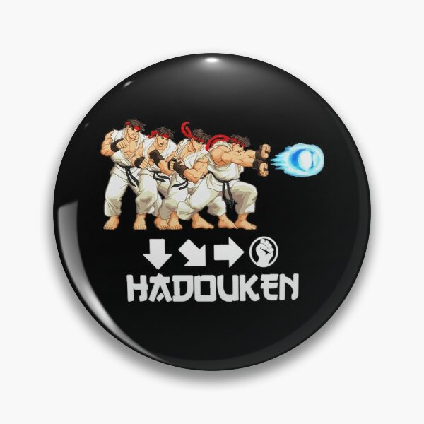 HADOUKEN Street Fighter Pin