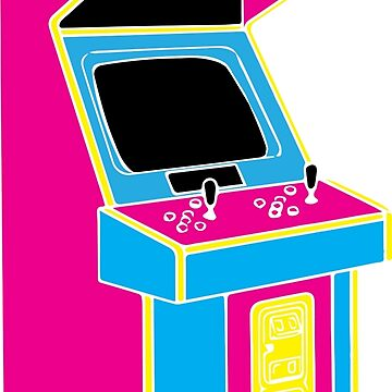 Stand Up, Old School Arcade Game (CMYK) by ChattanoogaTee