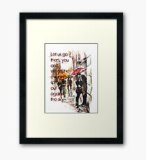 Love Conquers Framed Print