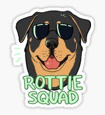 ROTTIE SQUAD Sticker