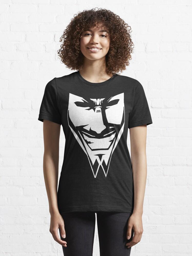 Alternate view of DAETRIX - SMILE MASK Essential T-Shirt