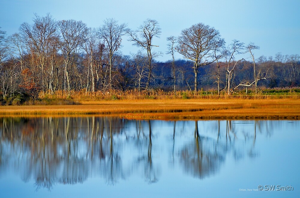 Little Bay's Reflections | Orient, New York by © Sophie W. Smith
