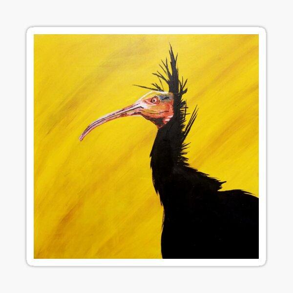 Waldrapp Ibis Sticker