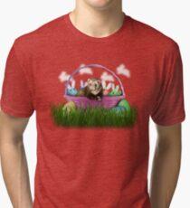 Easter Ferret Tri-blend T-Shirt