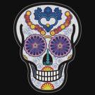 Day of the Dead Sugar Skull by VenusOak