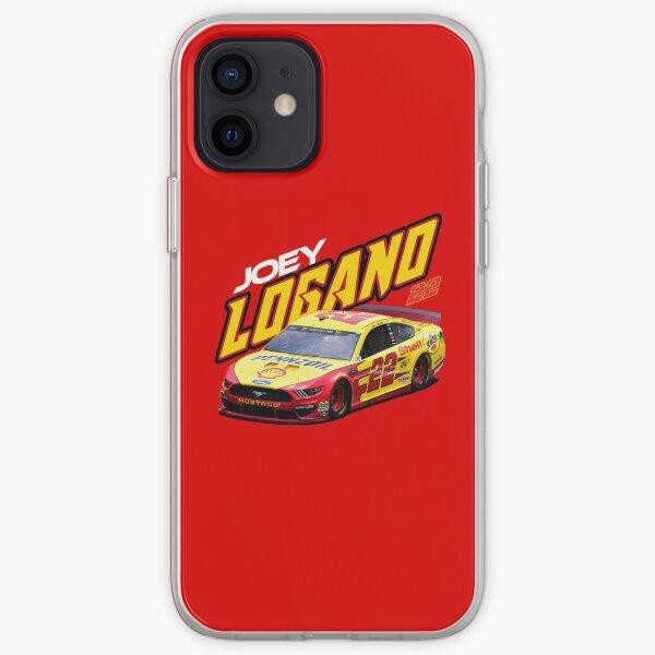 Logano # 22 iPhone Soft Case