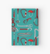 Climbing Equipment Design Pattern Hardcover Journal