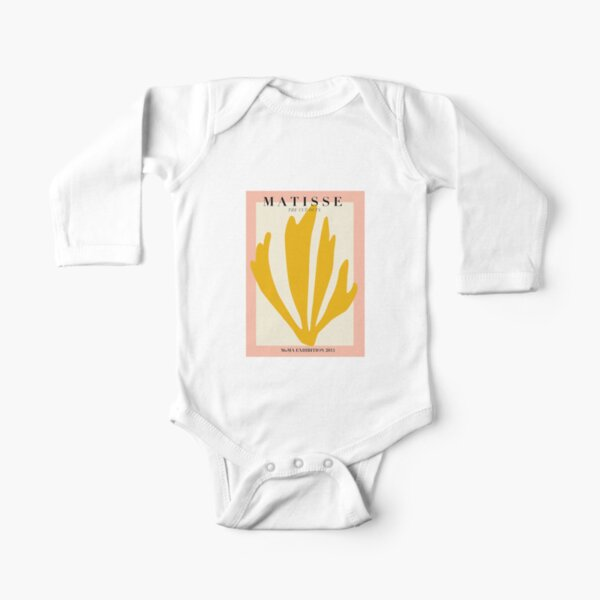 Moma Exhibition 2015 Long Sleeve Baby One-Piece
