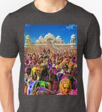 Holi - Spring Festival of Colors and Sharing Love from India and Nepal Unisex T-Shirt