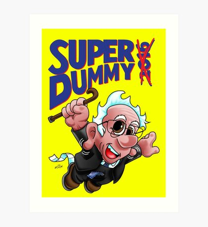 Super Dummy Art Print