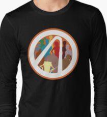 Borderlands Character Design Long Sleeve T-Shirt