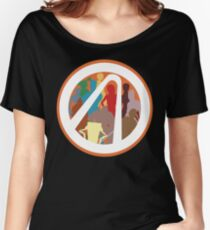 Borderlands Character Design Women's Relaxed Fit T-Shirt