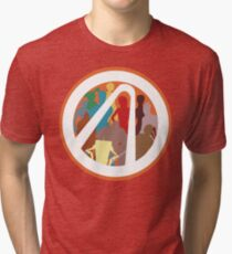 Borderlands Character Design Tri-blend T-Shirt