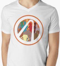 Borderlands Character Design Men's V-Neck T-Shirt
