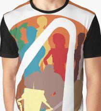 Borderlands Character Design Graphic T-Shirt