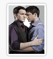 Ianto and Jack Sticker