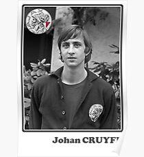 Johan Cruyff - Legend Football Poster