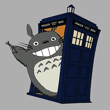 Totoro meets the tardis by davidojames