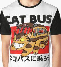 Katzenbus Grafik T-Shirt