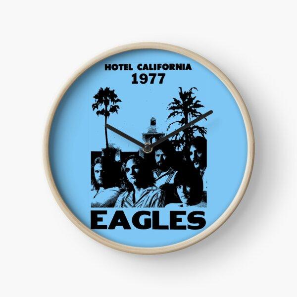 Hotel California 1977 Vintage Clock