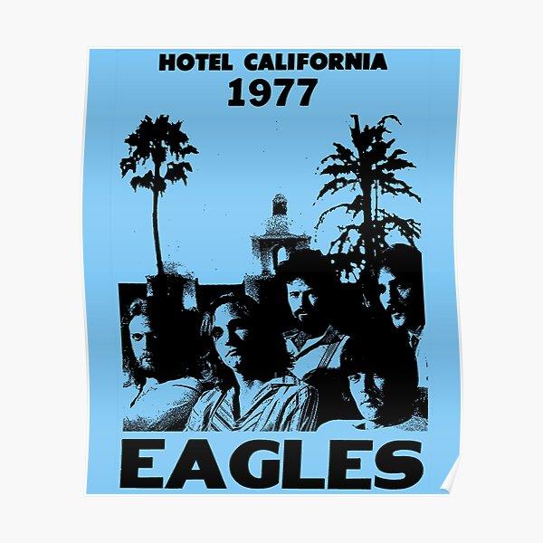 Eagles band decal Eagles rock band design wall clock Eagles poster