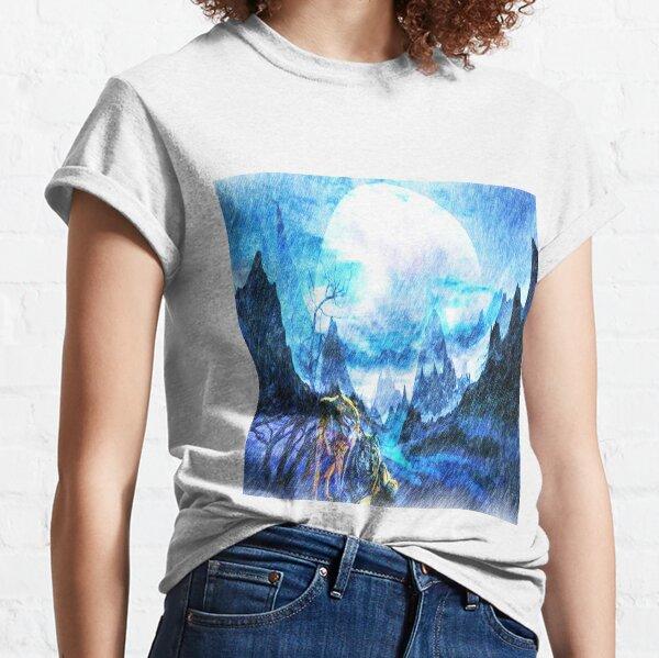 Winter moon  Classic T-Shirt