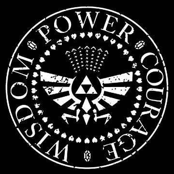 The Legend of Zelda Triforce by nachaompunx