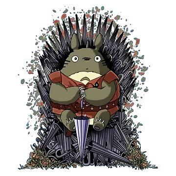 Totoro Trones by nachaompunx