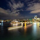 Sydney by Night by David Haworth