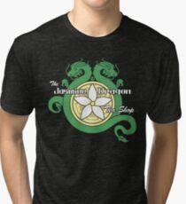 The Jasmine Dragon Tri-blend T-Shirt