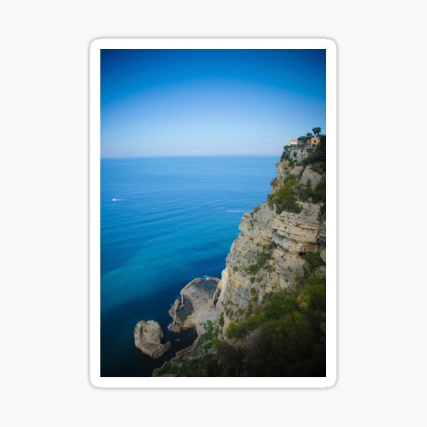 Amalphi coast, Sorrento, Italy Sticker