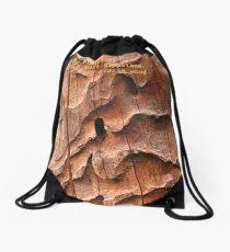Plants of East Gippsland: Dead Acacia wood Drawstring Bag