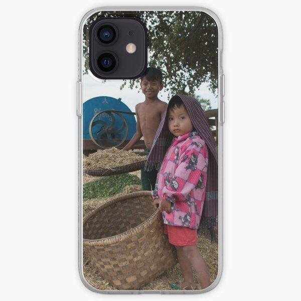 Family in Myanmar. iPhone Soft Case
