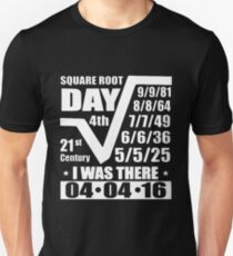 Square Root Day 2016 T-Shirt