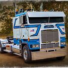 White Freightliner by Keith Hawley