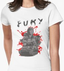 Fury Women's Fitted T-Shirt