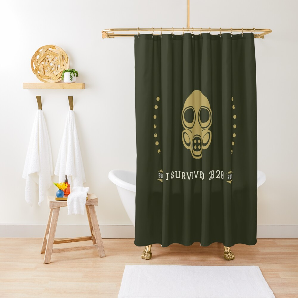 I survived 2020 Shower Curtain