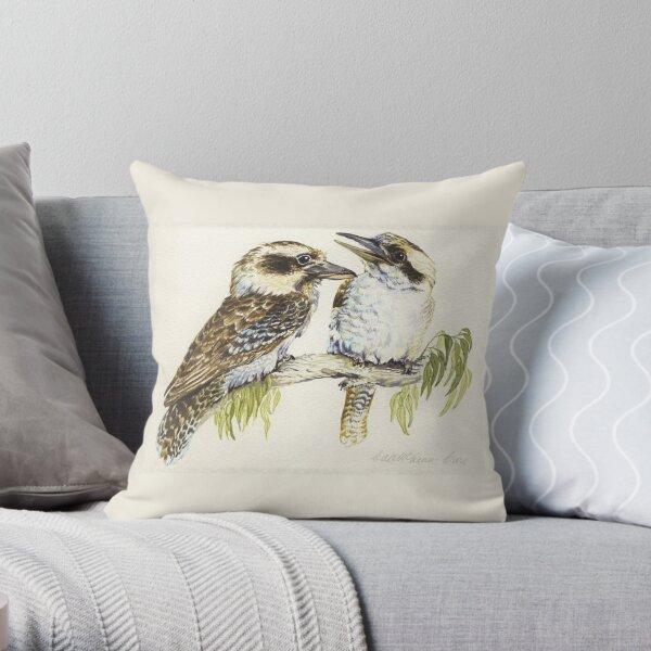 Kookaburras Throw Pillow
