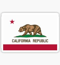 San Francisco Flag of California Sticker